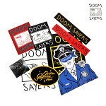 【DOOM SAYERS】ステッカーパック vol.2 -10枚入り- 【ドゥームセイヤーズ】【スケートボード】【ステッカー】