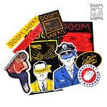 【DOOM SAYERS】ステッカーパック vol.1 -10枚入り- 【ドゥームセイヤーズ】【スケートボード】【ステッカー】