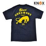 【KNOX HARDWARE CO.】EL GATO tee カラー:navy 【ノックス ハードウェア】【スケートボード】【Tシャツ】