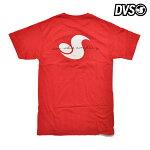 【DVS】CLASSIC SCRIPT tee カラー:red 【ディーブイエス】【スケートボード】【Tシャツ】