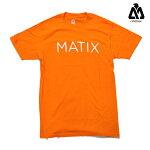 【MATIX】MONOSET tee カラー:orange 【マティックス】【スケートボード】【Tシャツ】