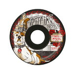 【SPITFIRE】DRESSEN DIA DE PERROS -black--FOURMULA FOUR 99DU CONICAL-サイズ:54mm 【スピットファイアー】【スケートボード】【ウィール】