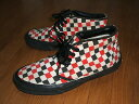 VANS(バンズ) Chukka Boots(チャッカブーツ) チェッカーフラッグ柄 MADE IN USA(アメリカ製) 1990年代製
