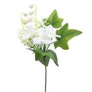 【造花】【アレンジメント】造花 スズランピック ホワイト