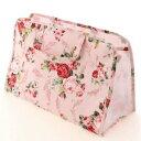【スパバッグ】【温泉バッグ】温泉バック パンセアラローズ アニバーサリーローズ ピンク