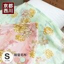 西川 毛布(京都西川 毛布)マイクロファイバー軽量毛布 シングル【送料無料】あす楽(リテラ)