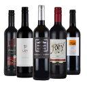 ワインセット 送料無料 飲み比べ 赤ワイン 5本 オーガニック ワイン 入り