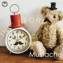 Mustache [ マスタッシュ ] ■ 目覚まし時計 | 置時計 【 インターフォルム 】