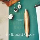 RoomClip商品情報 - Surfboard Clock [ サーフボードクロック ] 壁掛け時計 ■ 壁時計   掛け時計   置時計 【 インターフォルム 】