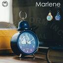 Marlene [ マレーネ ] 目覚まし時計 ■ ベル時計 | 置き時計 【 インターフォルム 】