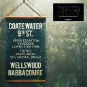 Coate Water [ コートウォーター ]  ■  タペストリー   ウォールデコ【 インターフォルム 】