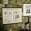 Graham's Barber [ グラハムズ バーバー ] 61x53cm ■ タペストリー | ウォールデコ【 インターフォルム 】