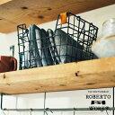 RoomClip商品情報 - Roberto Works [ ロベルトワークス ] バスケット ■ ワイヤーバスケット 【 インターフォルム 】
