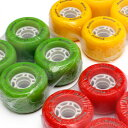 フリーライン用純正カラーウィール4個入りセット■Freeline Skates Color Wheel■カスタムウィール■レッド・グリーン・イエロー