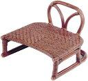 正座椅子 背もたれ付き 背付正座椅子 ラタン 正座いす 籐 正座イス アジアン 和風 送料無料 通販 SZ-204D 【ire】【smtb-f】