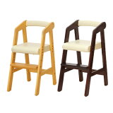 キッズハイチェア 子供用 naKids (  チェアー チェア イス いす 椅子 木 木製 テーブルチェアー 子ども用 こども用 食事用 ダイニング ベビー 赤ちゃん 子供部屋 ダークブラウン ナチュ