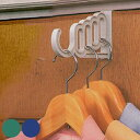 楽天インテリアパレットドアハンガー どこでもドアフック 5連タイプ ( バッグ収納 ドアフック ハンガーフック ハンガーラック ドアハンガーフック コートハンガー ドア干し フック ハンガー ) 【5000円以上送料無料】