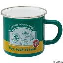 マグカップ ホーローマグ ミッキーマウス グリーン ホーロー製 ( ホーローマグカップ 琺瑯 ほうろう ホーローコップ ホーロー ミッキー ディズニー 緑 ) 【5000円以上送料無料】