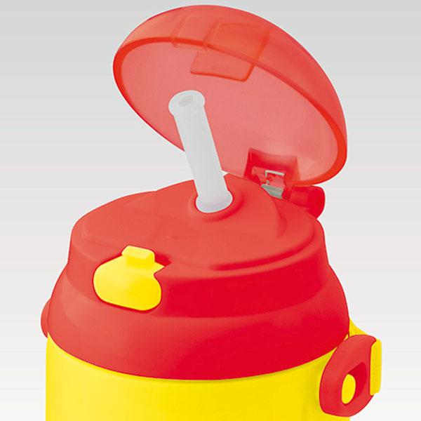 子供用水筒 しまじろう 保冷シリコンストローボ...の紹介画像2