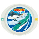 ランチプレート お皿 プラレール メラミン製 子供用 キャラクター ( 子供用食器 プラスチック製 皿 プレート )