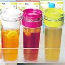 冷水筒 スリムジャグ 1.1L ( ピッチャー 冷水ポット 麦茶ポット 水差し 耐熱 横置き 縦置き 1リットル )