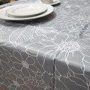 テーブルクロス クリオール130×180cm 4人掛けのテーブルにさっと拭けるビニール製