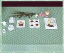 テーブルクロス エッセンス132×229cmさっと拭けるビニール製