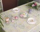テーブルクロス パステル132×178cmさっと拭けるビニール製