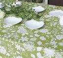 テーブルクロス ベロニカ132×178cmさっと拭けるビニール製