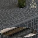 テーブルクロステーブルクロス 北欧 テーブルクロス 撥水 約140x230cm(長方形6人掛け)キューブ
