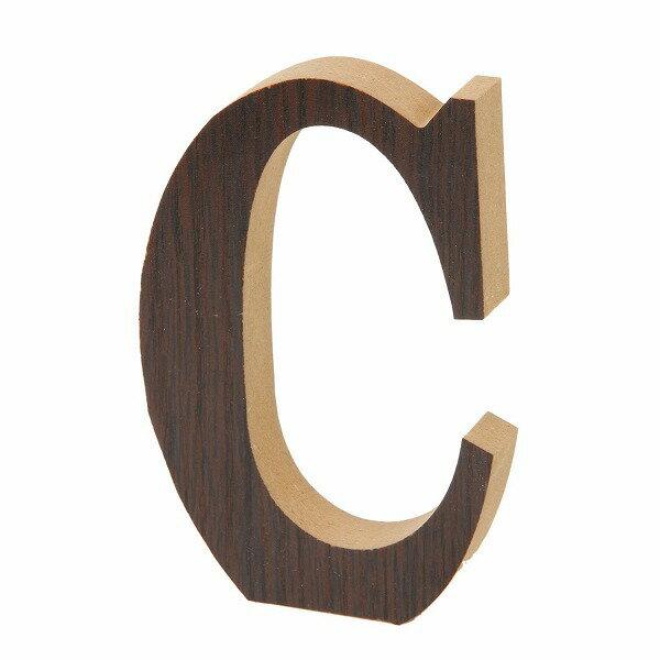 【まとめ買い対象商品_z】木製アルファベット C