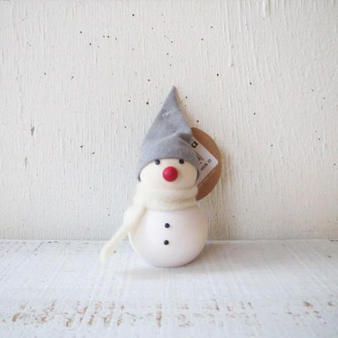 aarikka / FINLANDアアリッカ / 雪だるま・赤いお鼻 B6853オーナメント/クリスマス/クリスマスオーナメント/フィンランド/北欧/天然木
