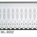 明和グラビア 貼ってはがせる カーテン (ウインドーレース) 90cm×90cm ML-9002