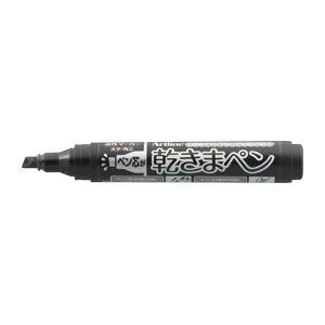 シヤチハタ 乾きまペン 太字 角芯 黒 K-199Nクロ 1本