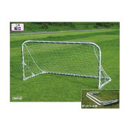 エバニュー ミニサッカーゴール折りたたみ12 EKD815 幅200cm×高さ100cm×奥行100cm 2台1組