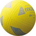 モルテン ミニソフトバレーボール イエロー 日本ソフトバレーボール連盟公認球 小学校 中・低学年用 S2Y1200Y