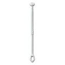タカラ産業 室内物干し DRY WAVE(ドライ ウェーブ) TA6090 1本 (台座楕円型 上下伸縮) 600〜912mm
