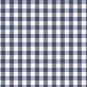ロラ テーブルクロス ベルギーデザイン LOL11375 LOLA tablecloth 140 round CHIWY DENIM ギンガムチェック デニムブ...