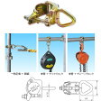 123 ワンツースリー リング付クランプ 滑車などの吊下げ金具 NTD-D