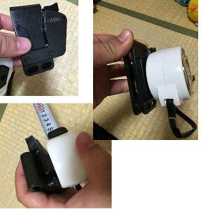 プロマート×NEXESマグネシウム255.5mマグ爪ホルダー付ブラック×ホワイトコンベックスMGNX2555H-BW