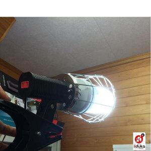 作業灯屋内用エコトルネード60W大型PCクランプ付ランプET60W-SP