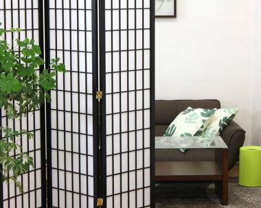 和風衝立4連ハイタイプ高さ180cm《KODAMA/HIKARI》衝立つい立てついたて間仕切り日除けパーテーションパーティションスクリーン和風和モダンシック木製おしゃれ3連4連