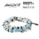 ショッピングエヴァンゲリオン VIVIFY x RADIO EVA Pebble &Metal Chip's Beads Cord/綾波レイ【エヴァンゲリオン 公式アクセサリー】【evangelion】【受注生産 オーダーメイド】【キャンセル不可】【VFN-271】