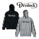 【先行予約商品】DEVILOCK(デビロック)DAIMLER & SKULL HOODIE【パーカー ロゴ】【ダイムラー スカル プリント】【キャンセル不可 受注生産】