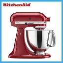 KitchenAid ミキサー エンパイヤレッド KSM150PSER 並行輸入品