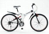 「折りたたみ自転車」CHEVROLET WサスFD-MTB26 18S シボレー NO73133【送料無料 送料込み】
