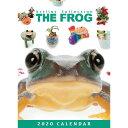 ショッピング卓上カレンダー 【メール便可】THE FROG(カエル) 2020年 卓上カレンダー2020年 卓上カレンダー[小動物/ペット/calendar/令和/デスク]