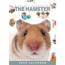 ショッピング卓上カレンダー 【メール便可】THE HAMSTER(ハムスター) 2020年 卓上カレンダー[小動物/ペット/calendar/令和/デスク]