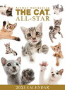 ショッピング卓上カレンダー 【メール便可】THE CAT 2021年 卓上カレンダー オールスター[猫/キャット/ペット/calendar/令和/デスク]