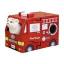 【ポイント10倍】ドギーマン じゃれ猫 なりきりにゃんボックス 消防車
